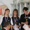 Победители Кубка России Нина Сарафанова и Анна Киселева УрФО 4*50 кпл
